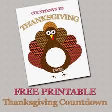 my fashionable designs free printable thanksgiving countdown