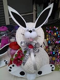 my easter bunny my easter bunny wreath made from two sun hats how to make