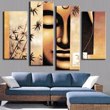 Home Decor Buddha by Compare Prices On Bamboo Canvas Online Shopping Buy Low Price