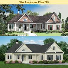 the valmead park plan 1153 craftsman exterior 87 best before and after renderings images on pinterest