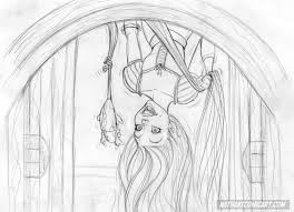 tangled convention sketch gotcha by nathanscomicart on deviantart