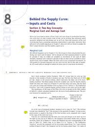 marginal costs kwch 08 two key concepts marginal cost and average cost edward