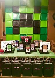 minecraft backdrop 89 best birthday ideas images on minecraft party