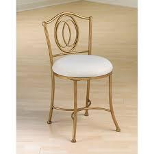 Bathroom Vanity Chairs Bathroom Outstanding Faux Fur Vanity Stool Pertaining To Gold
