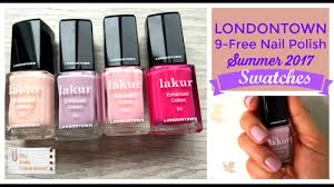 londontown 9 free nail polish summer collection 2017 youtube