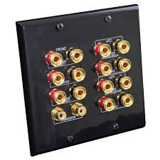 home theater wall plates pylehome phi71b tools and meters wall plates in wall