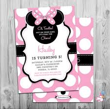 minnie mouse invitations minnie mouse invites minnie mouse party third birthday girl