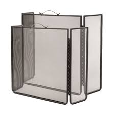 wrought iron fire screen winged stovax accessories