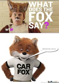 What Does The Fox Say Meme - what does a fox say by sxy man meme center