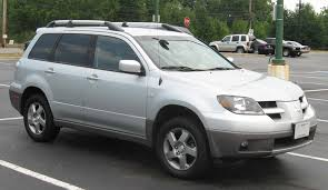 2003 mitsubishi outlander specs and photots rage garage