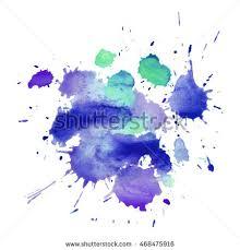 vector watercolor violet splash stock vector 263757677 shutterstock