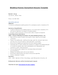 Sample Resume Objectives Event Coordinator by Event Coordinator Resume Sample Resume Template 2017