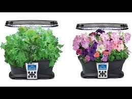 miracle gro aerogarden ultra led indoor garden with nasa growing