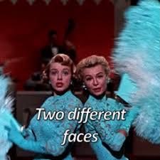 White Christmas Meme - gif 1950s white christmas old hollywood danny kaye rosemary