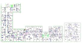 Floor Plan Of The Office Rankin Housing Residence Life Columbus State University