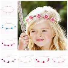 baby flower headbands newborn baby flower headband flower crown wedding party