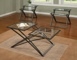 coffee table charming metal and glass coffee table design ideas