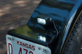 rigid industries backup light kit how to upfitting an equipment trailer with back up lights photos