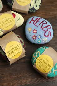 Painting Rocks For Garden Diy Painted Garden Rocks Gift Favor Ideas From Evermine