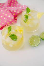 pineapple mojito recipe pineapple coconut mojitos recipe delish tropical cocktail