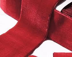 velvet ribbon by the yard velvet ribbon burgundy 36mm wide vintage velvet ribbon