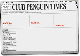 Newspaper Meme Generator - club penguin times template memetemplatesofficial