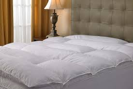 Pacific Coast Feather Bed Feather Mattress Topper Natural Hybrid Mattress Topper Goose