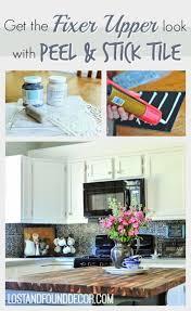 How To Remove A Tile Backsplash by Diy High End Patterned Tile Backsplash Look With Peel U0026 Stick Tile