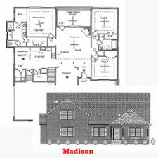 one floor plans with two master suites house plans goddard construction company llc