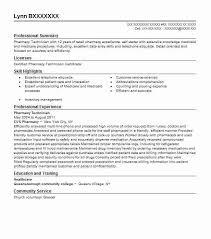 Hvac Installer Job Description For Resume by Best Pharmacy Technician Resume Example Livecareer