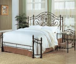 coaster violet queen iron bed value city furniture panel beds