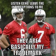 Geno Smith Memes - marksanchez genosmith ny nyc newyork jets tombrady boston