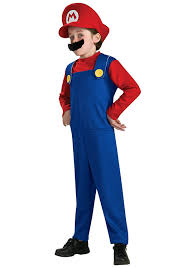 halloween costumes at amazon amazon com super mario brothers mario costume small