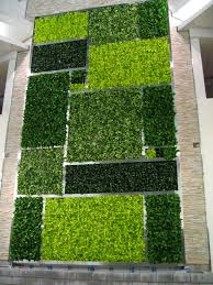 Interior Plant Wall Color Blocked Interior Living Wall In The Minto Plaza Ottawa