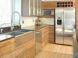 Kitchen Cabinet Lazy Susan Alternatives Modern Gray Kitchen Features Dark Flat Front Cabinets Paired