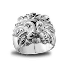 Personalized Engraved Rings Jewels Mens Ring Engraved Ring Personalized Ring Lion Ring