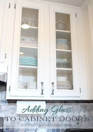 how to cut cabinets panels how to add glass to cabinet doors tutorial shows how to