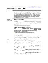 Baker Resume Sample by Examples Of Resume Profiles Sample Professional Profile For