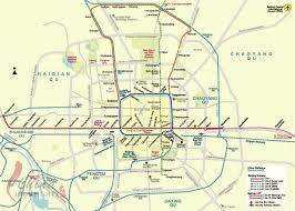 Map Qu Beijing Map