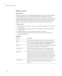statistic module rockwell automation arena users guide user