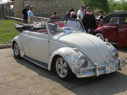 white volkswagen convertible 0703 texas vw classic