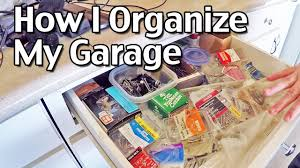 how i organize my garage how to organize your home part 5 youtube