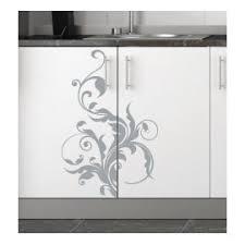 stickers pour porte de cuisine sticker mural placard 1 déco élégante pour la cuisine