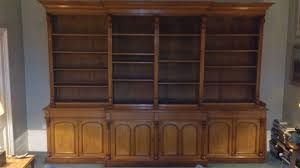 Oak Bookcases Sale Breakfront Bookcases Hares Antiques