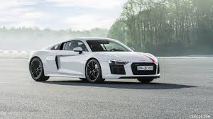 2018 Audi R8 Rws Color Ibis White Front Three Quarter Hd