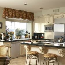Kitchen Window Treatment Ideas Pictures Delighful Kitchen Sink Bay Window Treatments Small Treatment Ideas