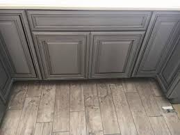white kitchen cabinets with gray glaze painting and glazing kitchen cabinets