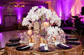 purple and white wedding purple and white wedding at estancia la jolla custom event