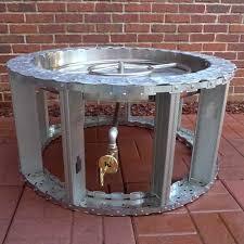 Gas Fire Pit Burner by Gaslight Firepit Com Gas Lights Fire Pits Fire Glass Fire Bowls