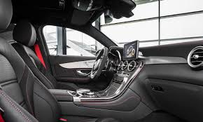 mercedes dashboard 2017 2017 mercedes benz glc coupe pricing and specs sports styled suv